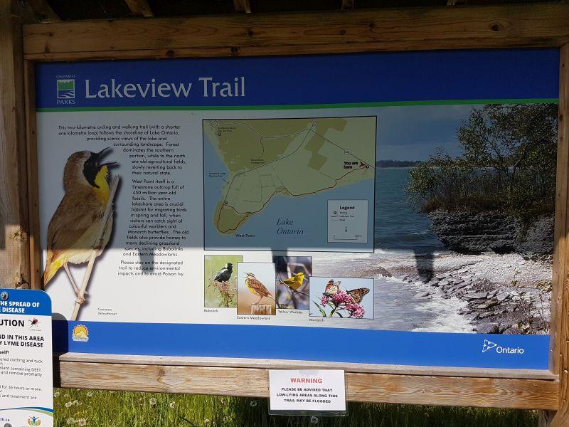 Lakeview Trail, Lake Ontario
