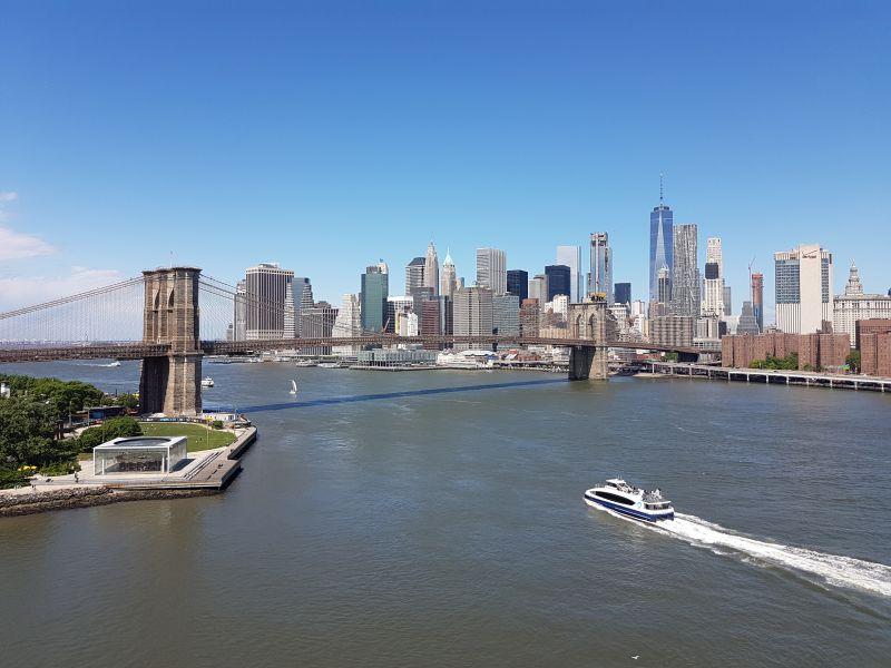 New York City (auf der Manhattan Bridge)