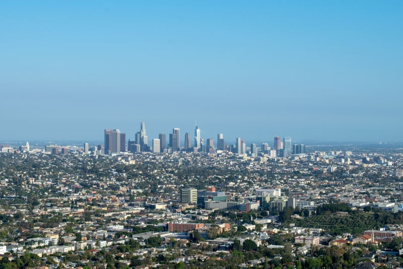 Los Angeles Skyline, Griffith Observatory