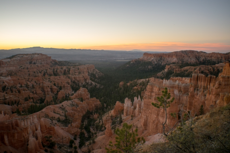 Sonnenaufgang am Sunset Point, Bryce Canyon