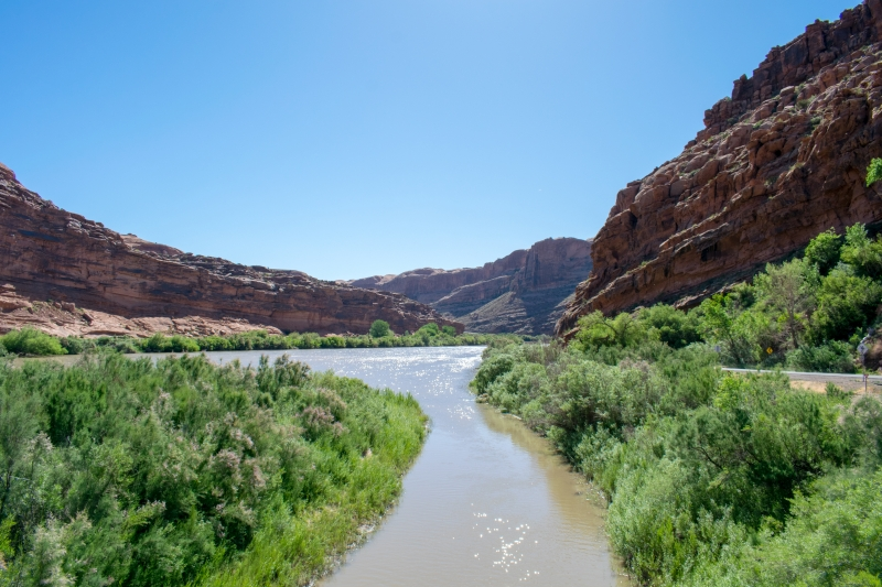 Colorado River bei Moab