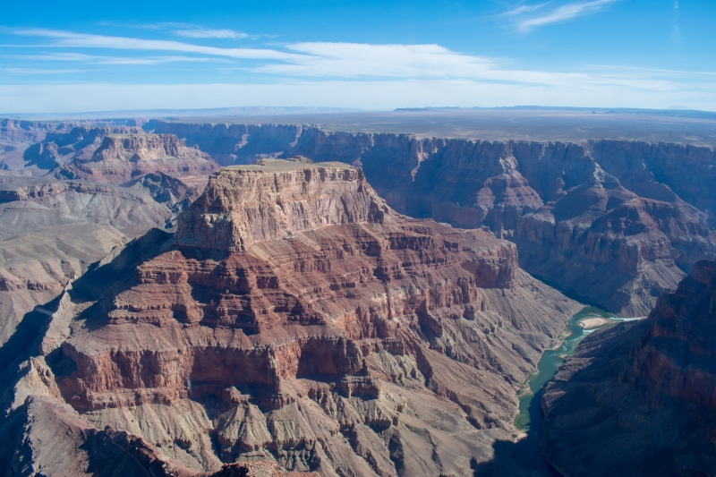Grand Canyon aus dem Helikopter