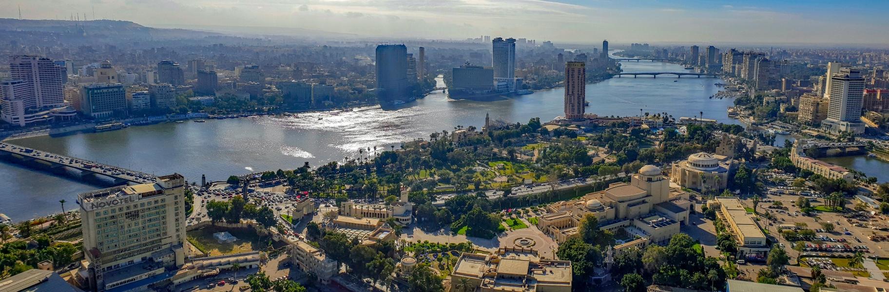 Aussicht vom Cairo Tower