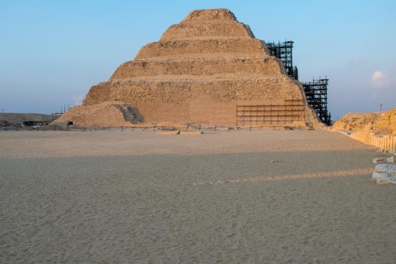 Stufenpyramide von Djoser in Sakkara