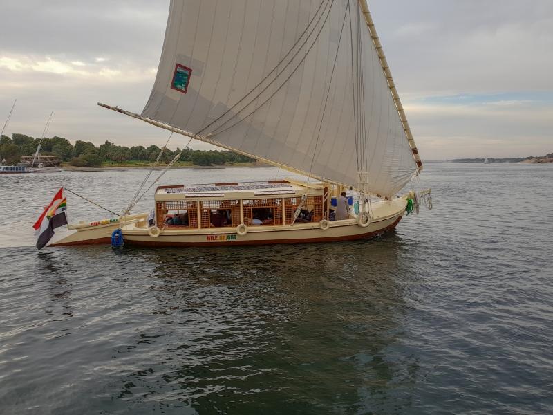 Felucca auf dem Nil