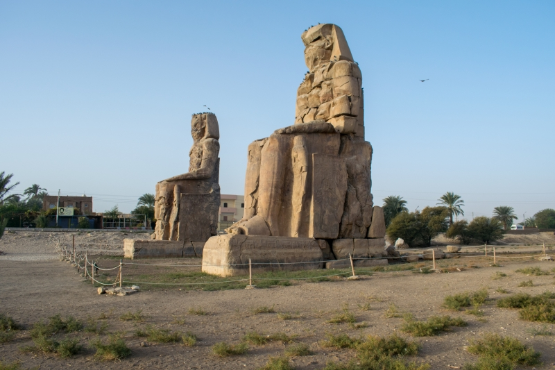 Memnonkolosse westlich von Luxor