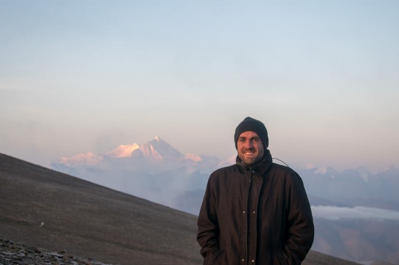 Kya Wu Lha Pass (Mount Everest im Hintergrund)