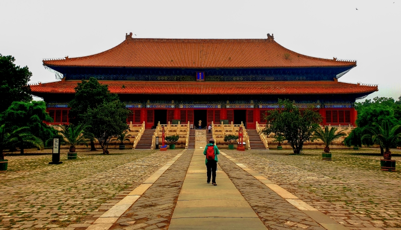 Ming-Gräber (Changling-Grab)