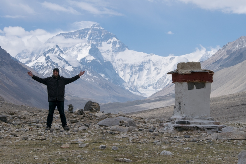 Mount Everest (Rongbuk-Kloster)