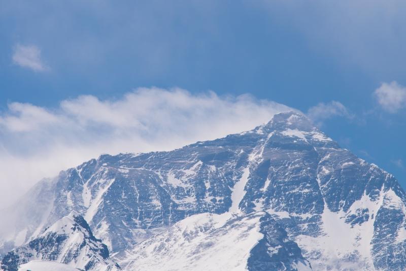 Gipfel des Mount Everest
