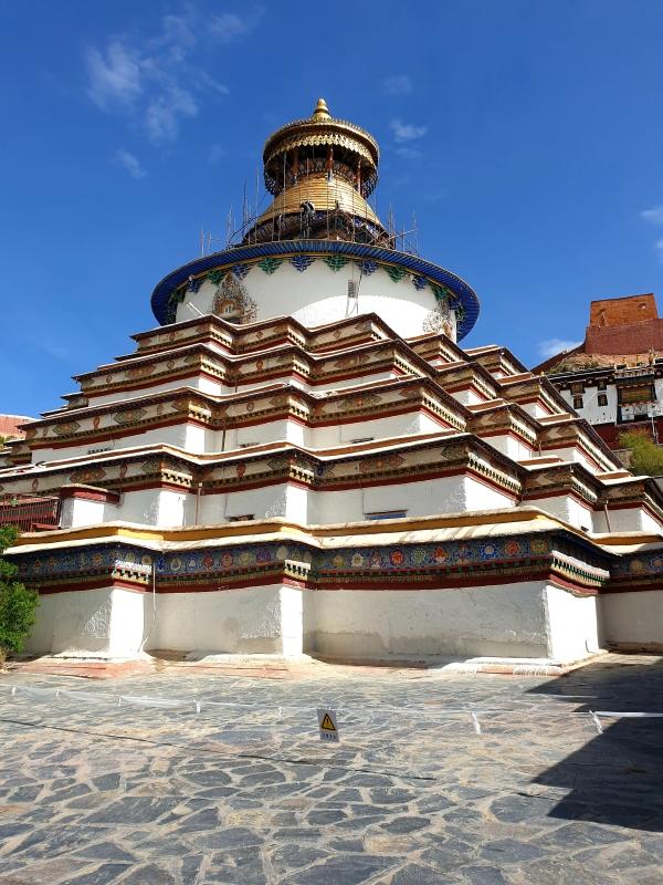 Der grosse Stupa/Chörten (Kumbum) von Pelkhor Chöde