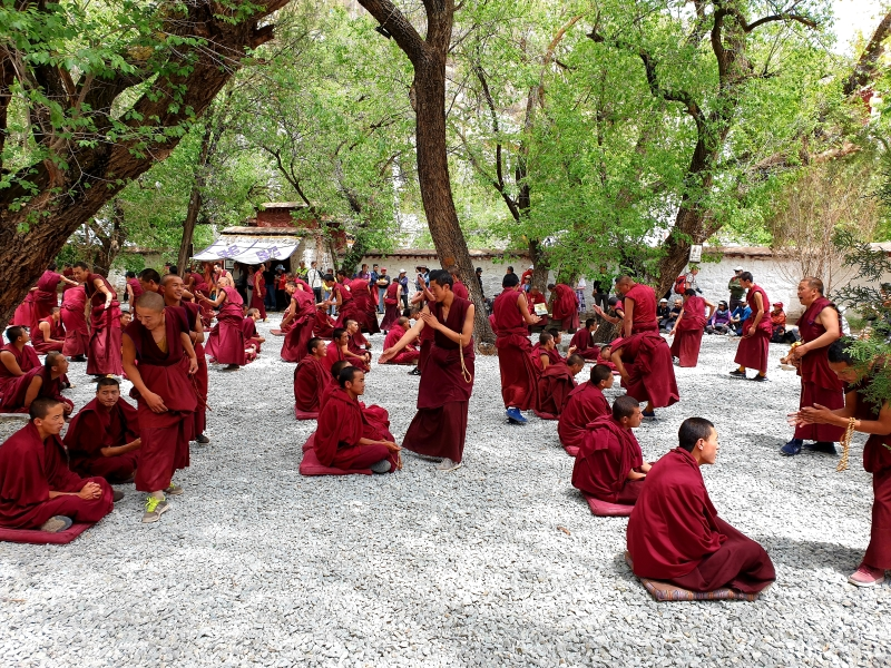 Debattierhof im Sera-Kloster (Lhasa)