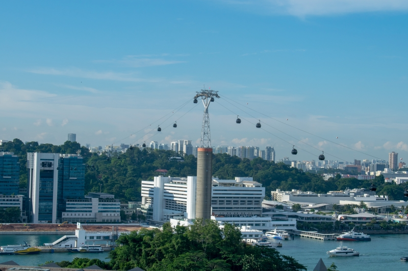 Singapore Cable Car, Mount Faber Line