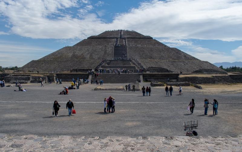 Sonnenpyramide, Teotihuacán