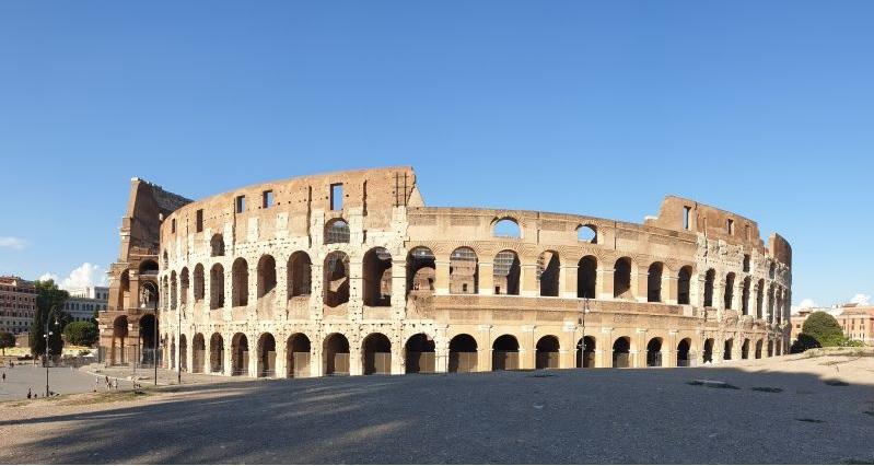Das Kolosseum (Südwestseite)