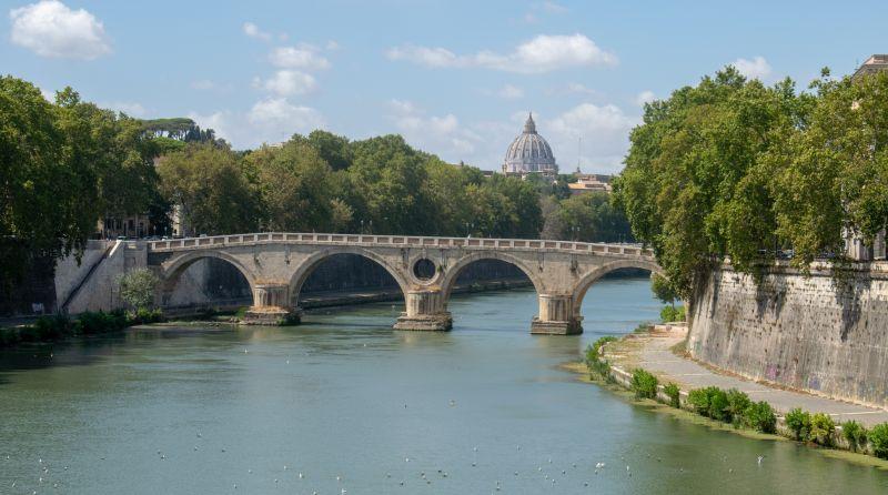 Sicht von der Ponte Garibaldi