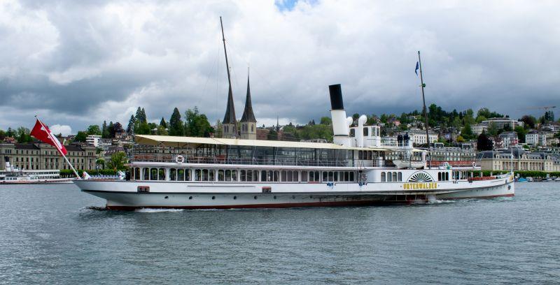 Dampfschiff Unterwalden in Luzern