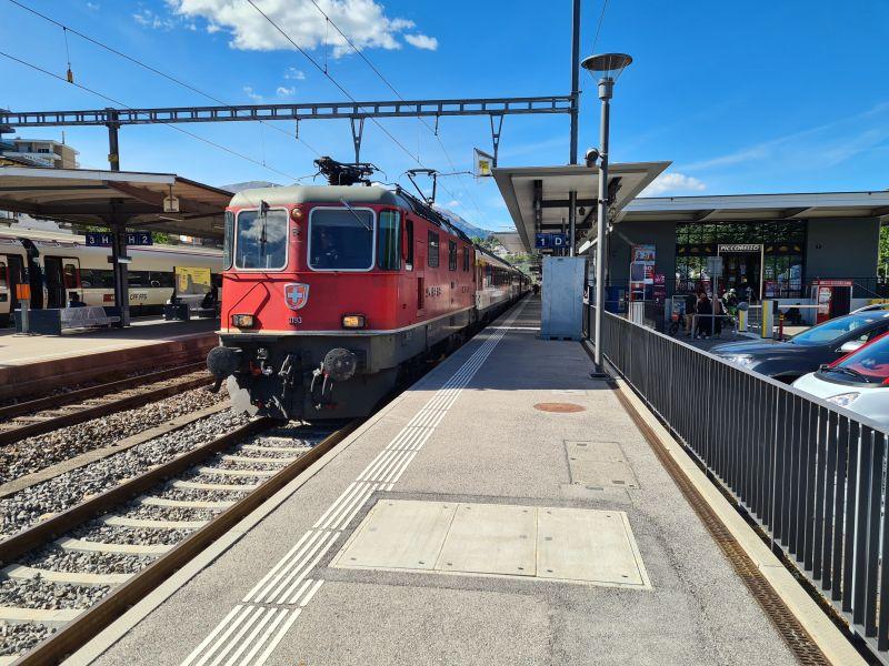 Gotthard Panorama Express in Lugano
